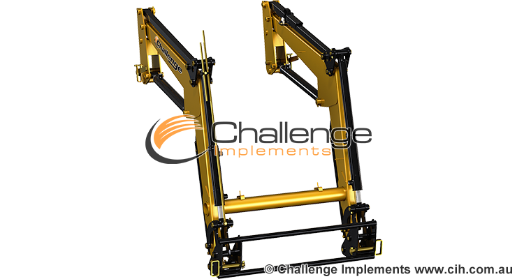Compact front-end loader range